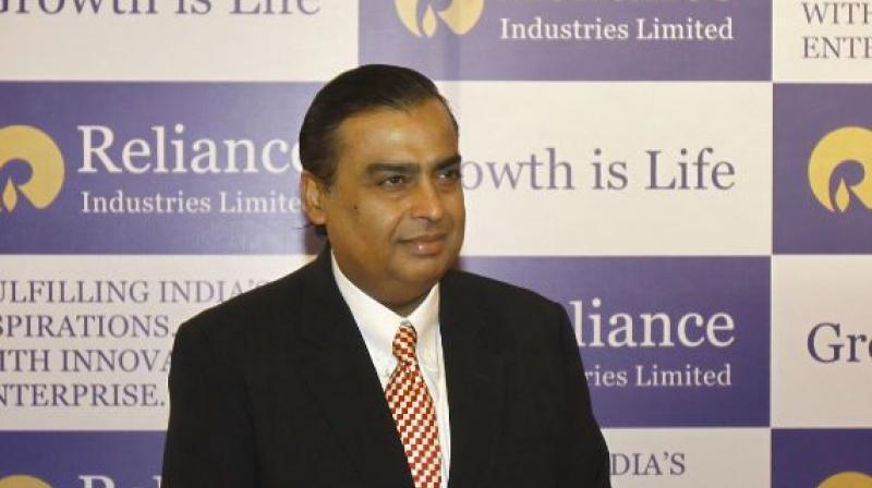 Industrialist Mukesh Ambani