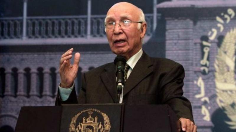 Pakistan Prime Minister's Adviser on Foreign Affairs Sartaj Aziz.  (Photo: PTI/File)