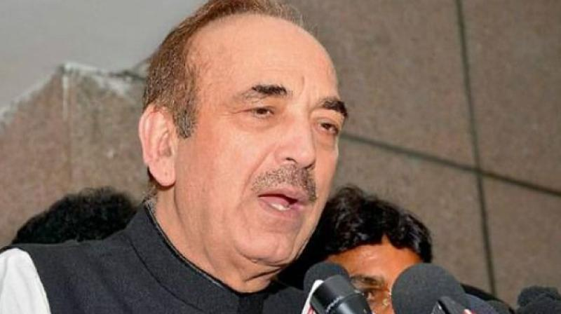'Paise dekar aap kisiko bhi saath le sakte ho (Anyone can be brought along with money),' Azad said when asked about Doval's visit. (Photo: File)