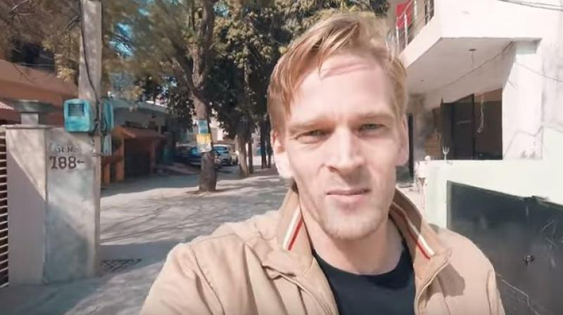 Karl Rock, an expat from New Zealand currently living in Delhi has won many Indian hearts with his fluent Hindi generally and with his video 'Foreigner Surprising Indians with Hindi' specifically. (Photo: Youtube Screengrab)