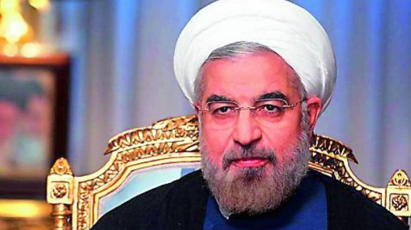 Iranian President Hassan Rouhani said on Sunday it was Washington that had left the negotiating table. (Photo:AP)
