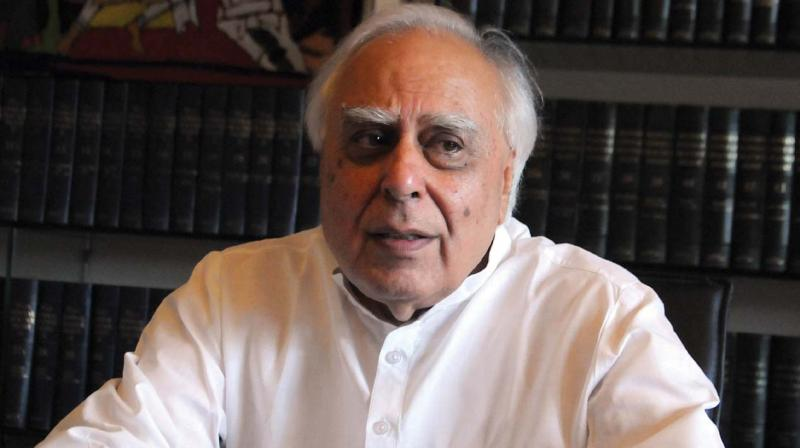 Senior Congress leader Kapil Sibal told reporters, when asked about the SC order on contempt plea filed by BJP leader Meenakshi Lekhi against Gandhi. (Photo: File)