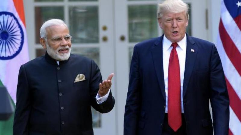 PM Narendra Modi and US President Donald Trump. (Photo: AP)