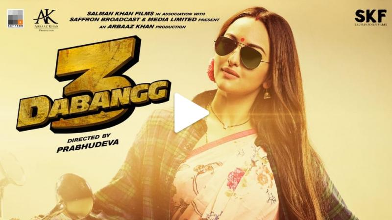 Sonakshi Sinha as Rajjo in Dabangg 3. (Photo: Twitter)