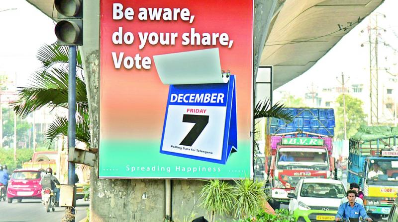 IT Companies will remain shut on December 7 for Telangana Polls