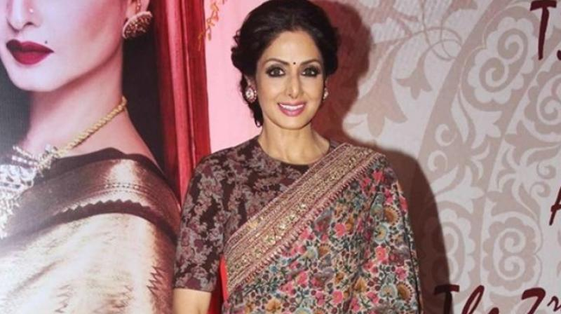 Sridevi was last seen in 'Mom.'