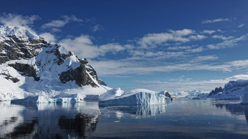 The West Antarctic ice sheet was stable in 1992 but now, a quarter of the sheet is thinning. Should this ice sheet completely melt, global sea levels will rise by over five metres. (Photo: Representational/Pixabay)