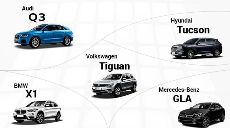 BMW Of Tucson >> Volkswagen Tiguan Vs Hyndai Tucson Vs Audi Q3 Vs Bmw X1 Vs