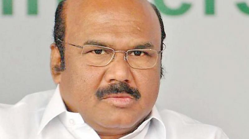 Tamil Nadu Finance minister D. Jayakumar. (Photo: File)
