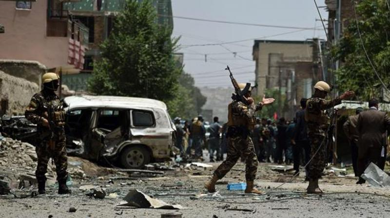 There was no immediate claim of responsibility for the attack in Nangarhar where the Islamic State group has a stronghold. (Photo: AFP/Representational)