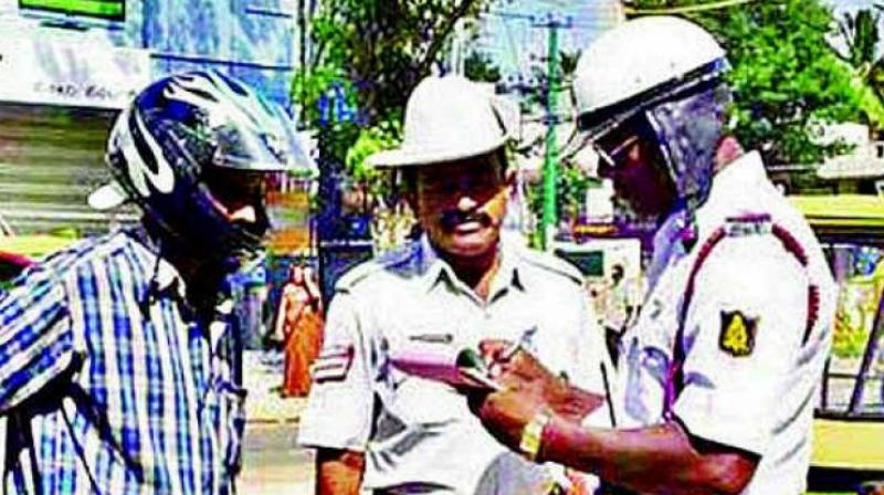 Hyderabad traffic police fleece violators with 'user charges'