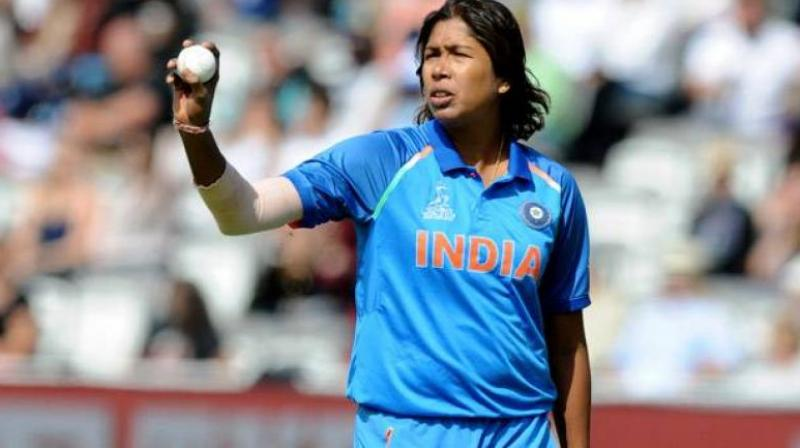 Jhulan Goswami became the first female cricketer to take 200 ODI wickets. (Photo: AP)