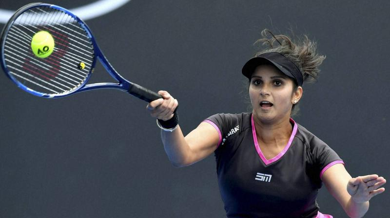 Sania Mirza said that post-retirement she would want to contribute to the game of tennis and stay involved. (Photo: AP)
