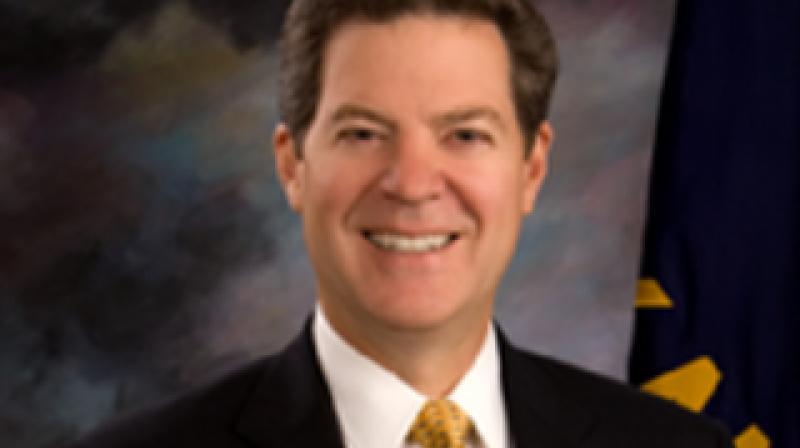 Governor of Kansas Sam Brownback. (Photo: Twitter)