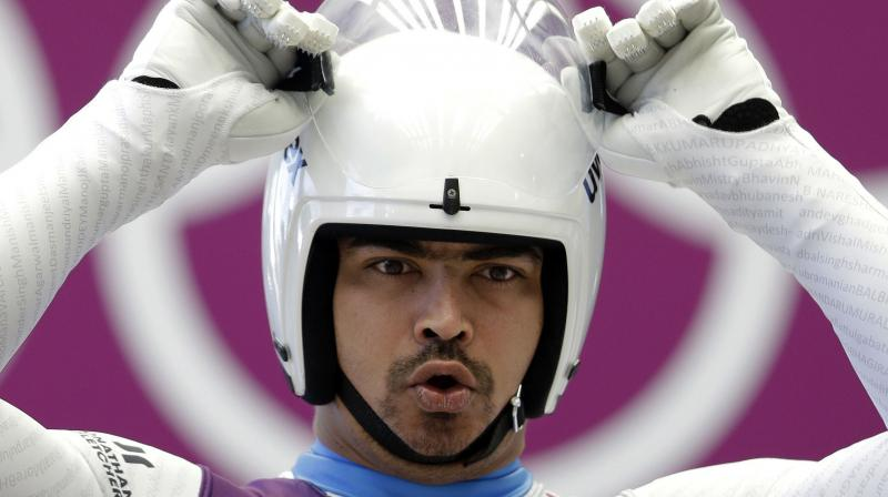 Shiva Keshavan is the reigning Asian champion in luge and the speed record holder. (Photo: AP)