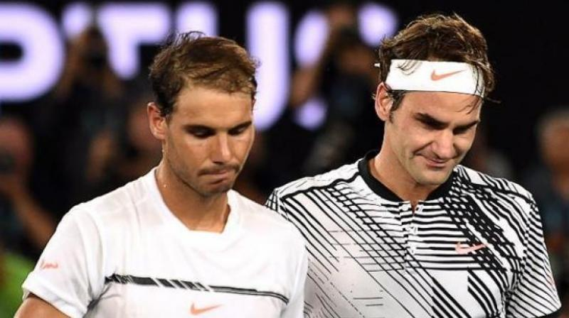 If Rafael Nadal Nadal does not play in Mexico or fails to reach the semi-finals of the tournament and Roger Federer wins the Dubai Open in the same week, then the top-ranked player would lose his spot. (Photo: AFP)
