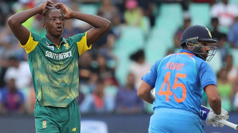 Kagiso Rabada said that while injuries have been a factor, it is also a silver lining for the team because it is also preparing for the 2019 World Cup. (Photo: BCCI)