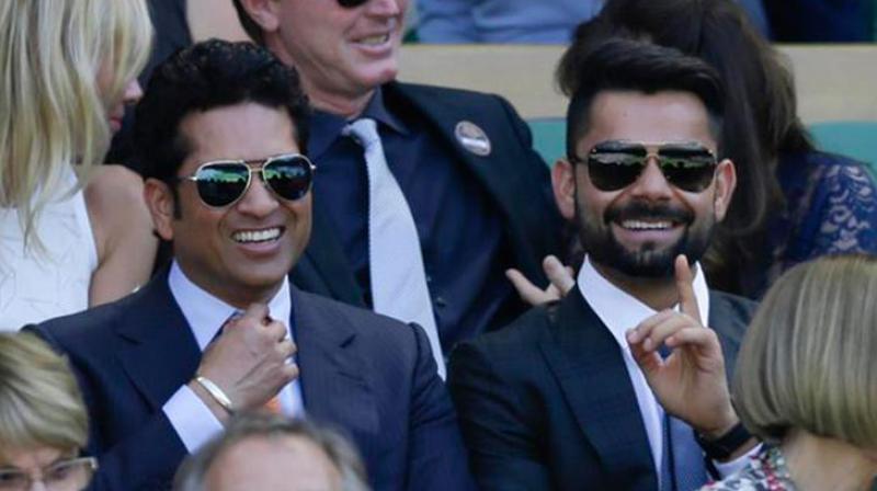 Sachin Tendulkar had predicted that either Virat Kohli or Rohit Sharma will go onto break his record of 100 centuries. (Photo: AP)