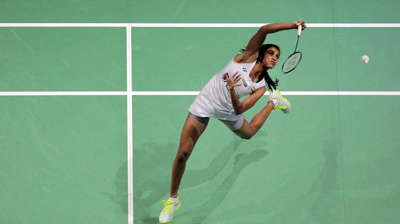 PV Sindhu had earlier tasted a defeat from Yamaguchi in the Dubai World Superseries Finals. (Photo: AFP))