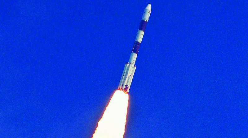 It may be recalled that the heat shield had created problem last time. For the second time, Isro launched the satellites into the multiple orbits.