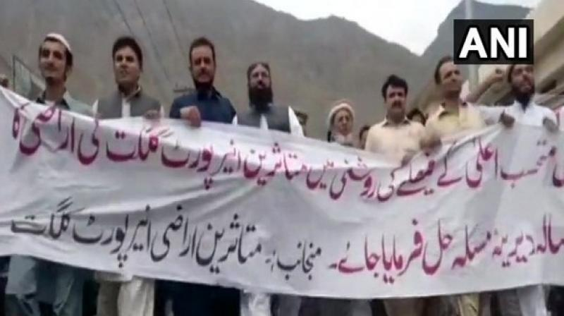 A large number of tourists visit Gilgit-Baltistan every year and the airport is the single major connectivity point. (Photo: ANI)