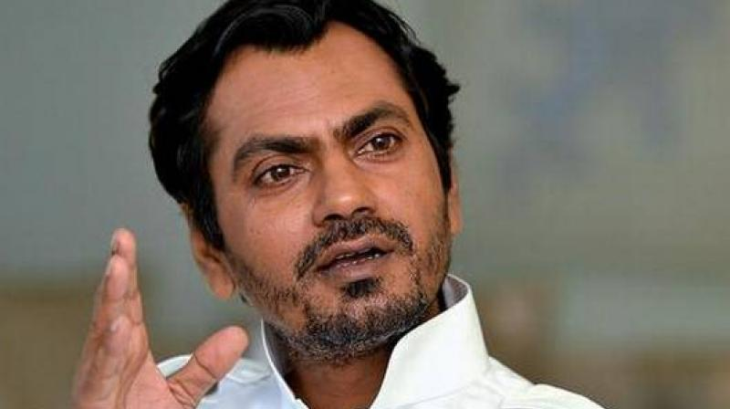 Nawazuddin Siddiqui at an event.