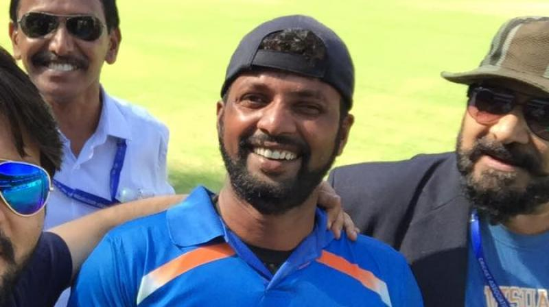 Prakash Jayaramaiah revealed that he will be sharing his Man of the Match and Man of the Series prize money awards with his teammates. (Photo: Facebook)