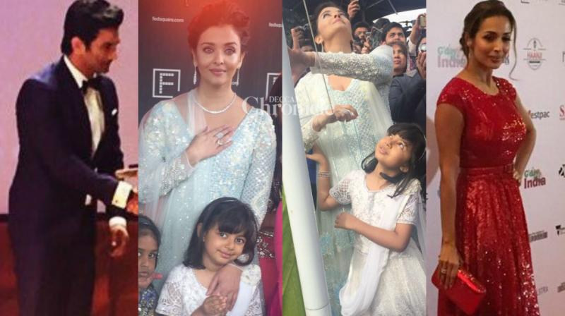 The International Film Festival of Melbourne is being currently held in the Australian city for the past few days which has been attended by several Bollywood celebrities. (Photo: Viral Bhayani/ Twitter)