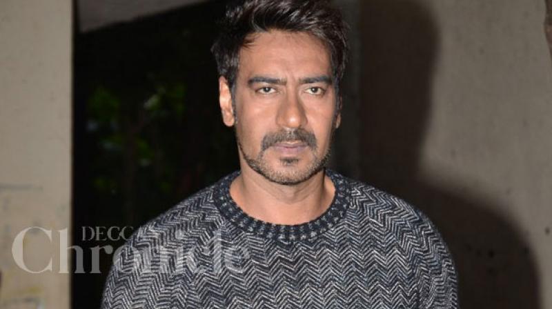 Ajay Devgn was last seen in 'Shivaay.'