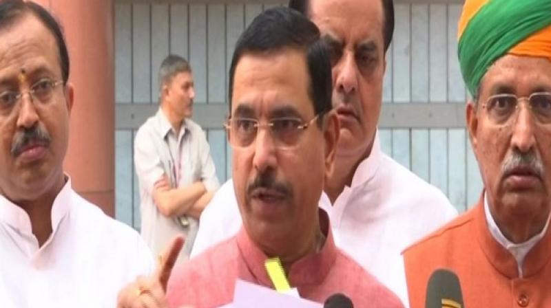 Sources said the opposition parties conveyed their views at a meeting of the Business Advisory Committee on Monday after the government conveyed that it is considering extending the session. (Photo: ANI)