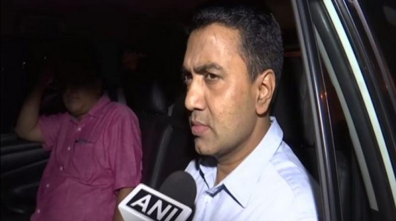 Meanwhile, CM Pramod Sawant also urged the locals to keep an eye on their children in order to prevent them from falling into a pit of drug abuse. (Photo: ANI)
