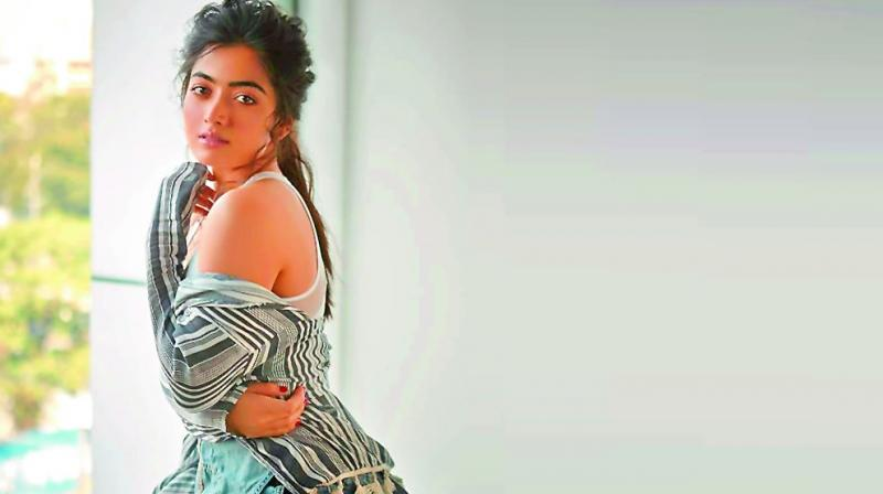 I always believe in the script and I sign films only based on that. If people can talk only about the kiss and not the entire trailer, then it just shows what people think. Actors like us merely portray fictional characters; how people take them is up to them — Rashmika Mandanna