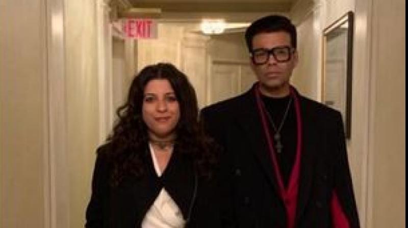Karan Johar and Zoya Akhtar.