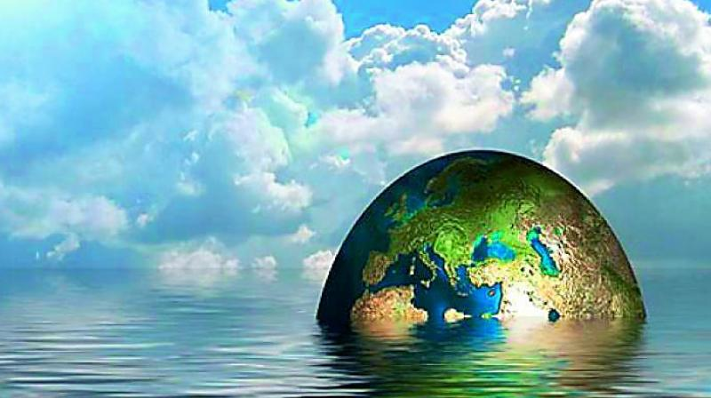 The study team explored the pace and consequences of global and regional sea level rise