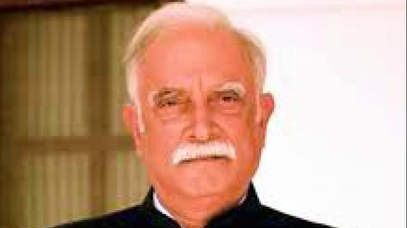Union Civil Aviation Minister Ashok Gajapathi Raju