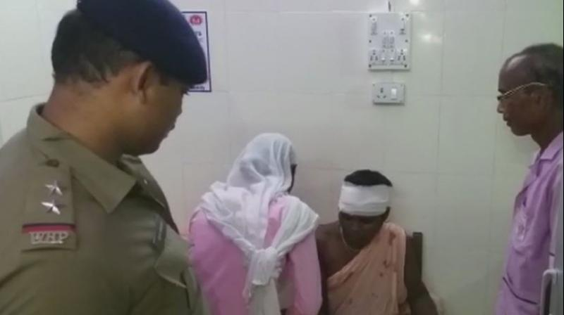The incident occurred on Monday evening around 8 pm at Barogharia Gram Panchayat area in Dhupguri Block. (Photo: Twitter | ANI)