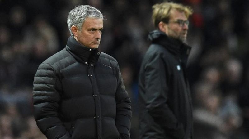 Both Jose Mourinho and Jurgen Klopp offered different views on the Brazilian's move to the Parisian club. (Photo: AFP)