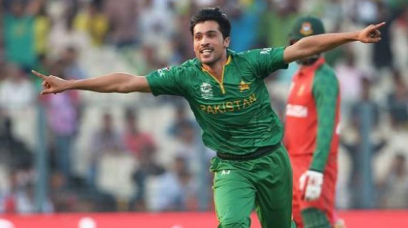 Mohammad Amir, who was in category B last year, has been promoted to category A. (Photo: AFP)