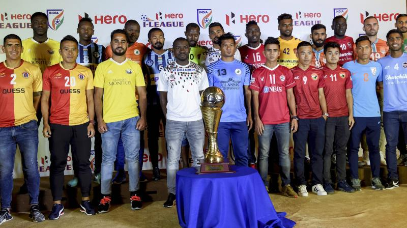 The non-televised matches from Saturday can be viewed on Hotstar or Jio TV, starting with the match between Aizawl FC and Indian Arrows, which kicks off at 2 pm. (Photo: PTI)