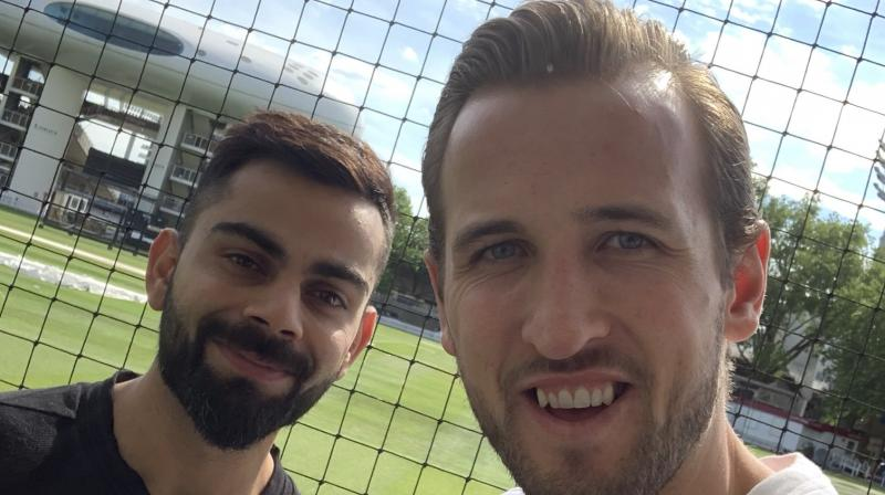 India are considered favourites to win the prestigious World Cup trophy, along with England and Australia. (Photo: Harry Kane/Twitter)