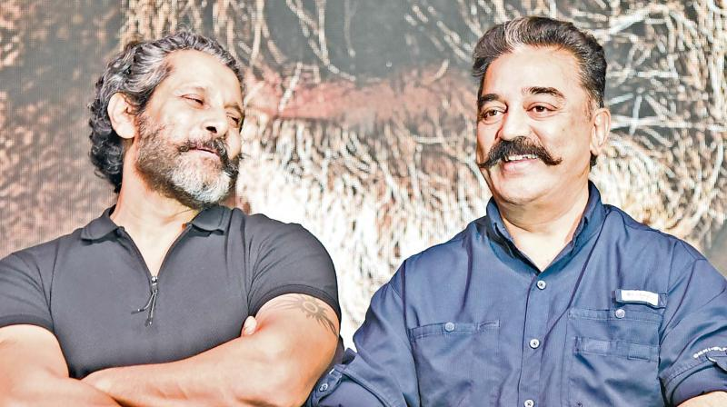 Kamal Haasan and Vikram