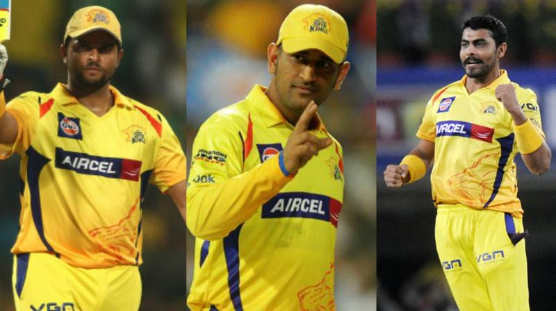 """We (Raina, MS Dhoni and Ravindra Jadeja) have played so many matches together. We had to play for CSK again. In fact, I became a real player in Chennai,"" said Suresh Raina. (Photo: BCCI)"