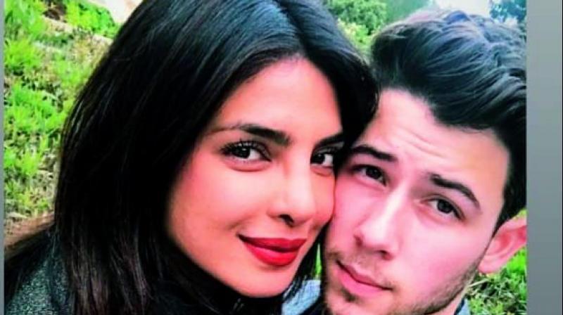 Priyanka Chopra with her husband Nick Jonas.