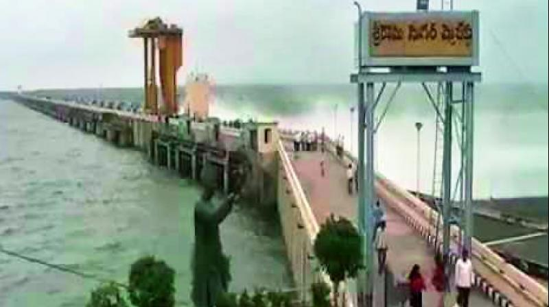The southwest monsoon covered Telangana state in a day on June.