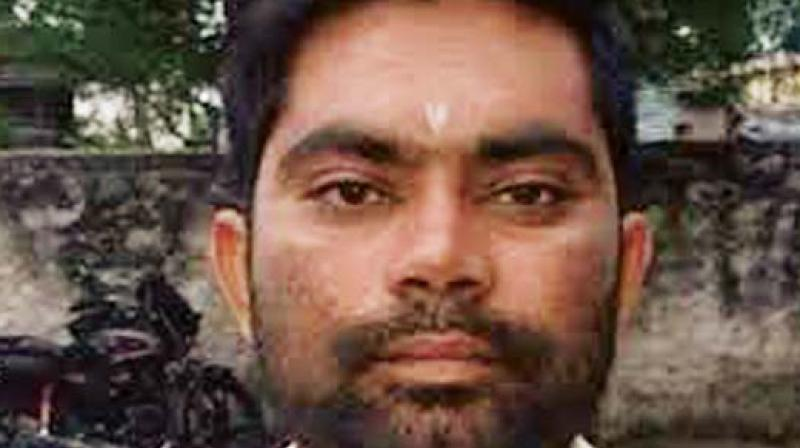 Parshuram Waghmare, the prime accused in the Gauri Lankesh murder case.