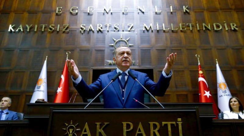 Turkey's President Recep Tayyip Erdogan (Photo: AP)
