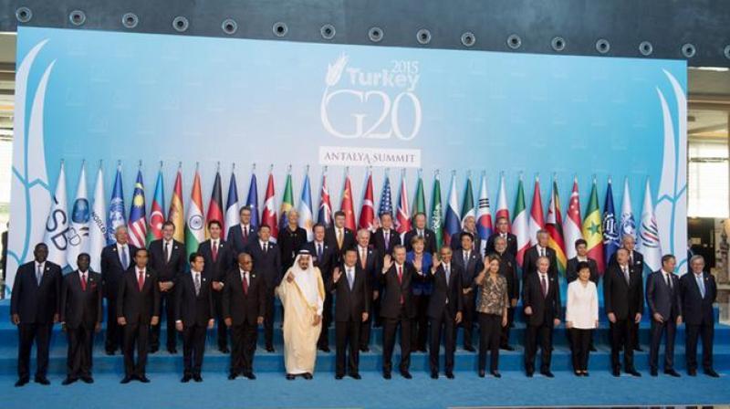 World Leaders at G20 Summit. (Photo: AFP)