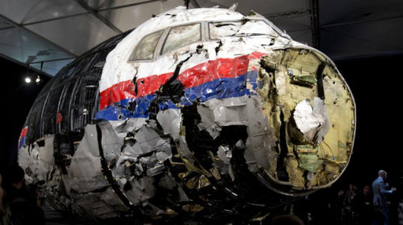 Malaysia Airlines Flight 17 broke up high over Eastern Ukraine killing all 298 people on board. Any suspects in the downing of Malaysia Airlines flight 17 over Ukraine in 2014 will be prosecuted in the Netherlands. (Photo; AP)