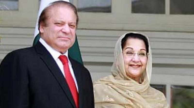 Begum Kulsoom Nawaz, who has been married to Sharif for 46 years, has largely stayed out of politics. (Photo: AFP)