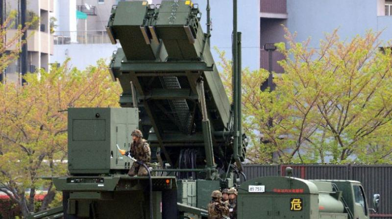 Television footage showed military vehicles carrying launchers and other equipment for the surface-to-air system entering a Japanese base in Kochi before dawn. (Photo: Representational/AFP)
